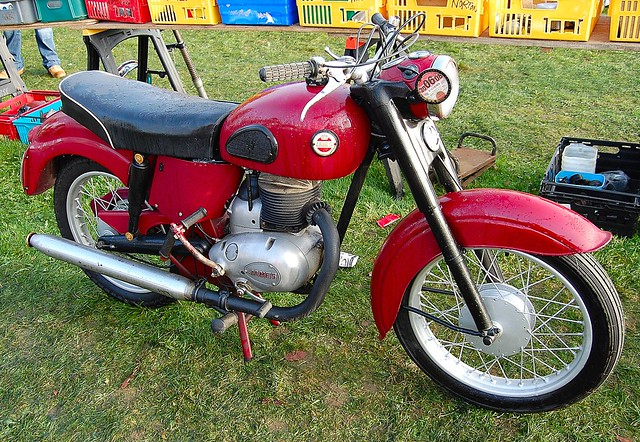 junk motorcycle