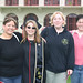 Graduate Jennifer Eaton with family at Commencement