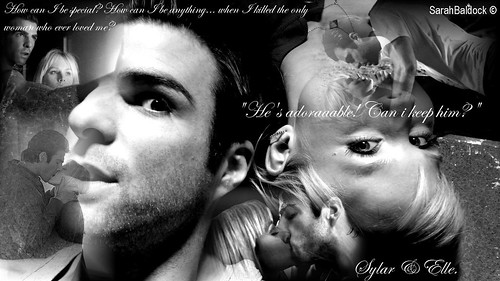 Heroes, Sylar And Elle. ♥