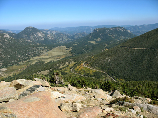 View from Trail Ridge Road ascent