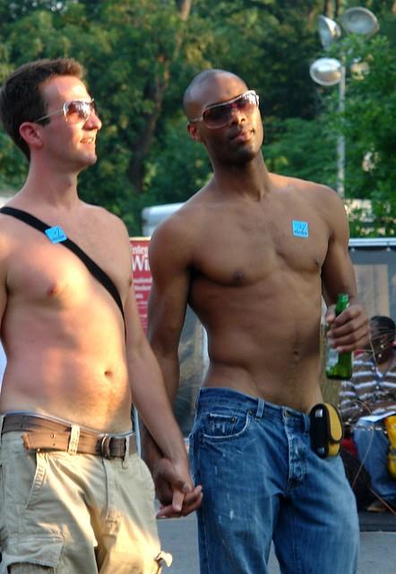 Atlanta Gay Pride - twelve. Nice contrast.