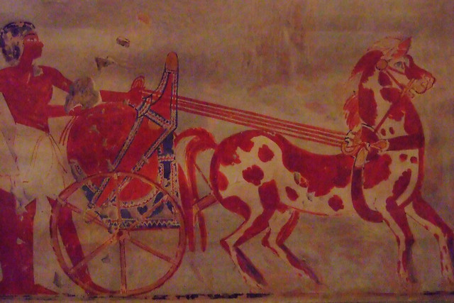 Ancient murals animals a gallery on flickr for Ancient egyptian mural