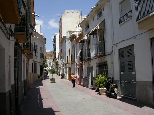 Una calle de Lorca
