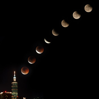 Lunar Eclipse (from Taipei)