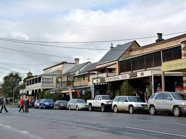 Morpeth Australia  City pictures : rainy Morpeth | The historic and touristy main street of Mor ...