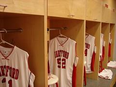 University of Hartford - Men's and Women's Basketball Wood Lockers 1