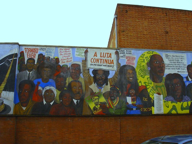 black history mural reading flickr photo sharing