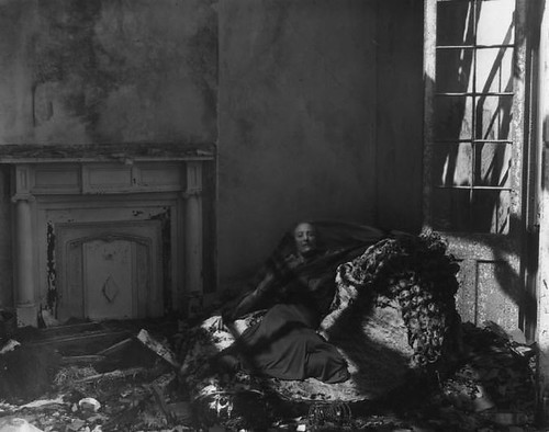 "Clarence John Laughlin, ""The Repulsive Bed"" 1941 by Black.Doll"