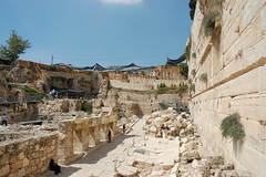 Archeology Site - Outside Southwest Corner Temple Mount - Jerusalem Israel by David King, on Flickr