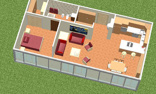 Progetto di un loft for Progetto di casa loft