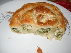 banitsa, baked goods, food, dish, cuisine, quiche, spanakopita,