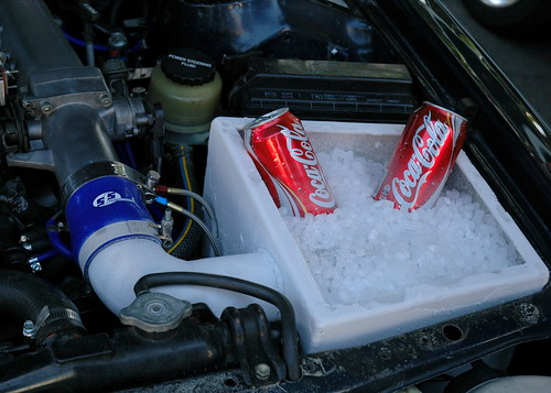 Charge Air Cooler Ice Box : Dry ice intercooler competition diesel bringing