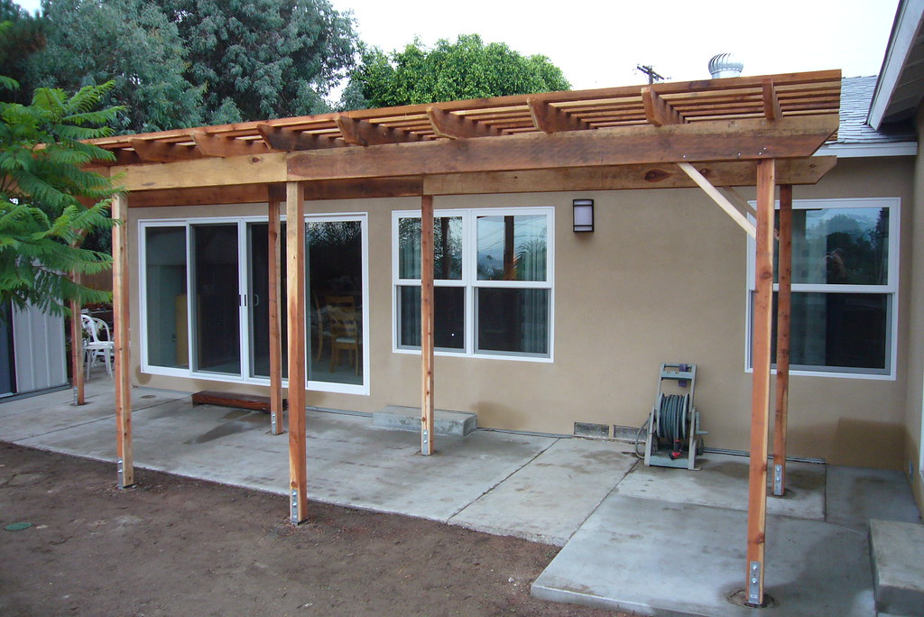 Pergola shade covers shade covers for Free standing patio covers
