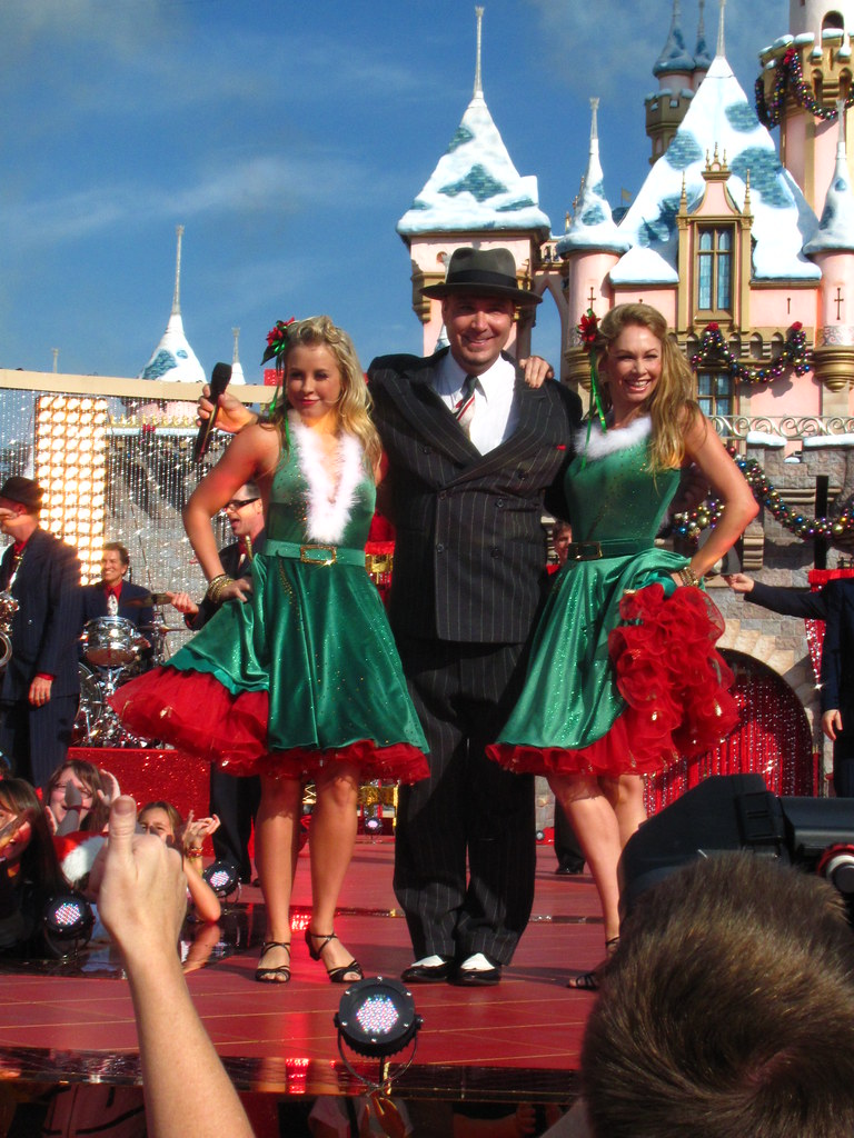 Big Bad Voodoo Daddy Performs In Front Of Sleeping Beauty
