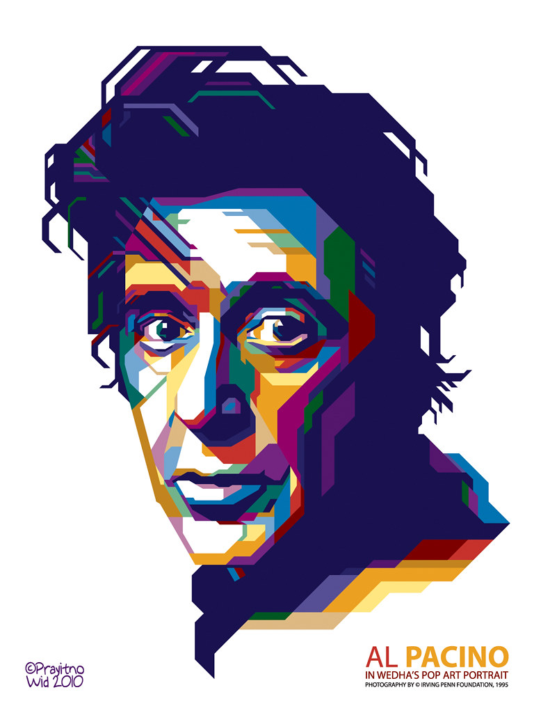 [Megapost] Fan Art - Wheda's Pop Art Portrait (WPAP
