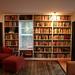 New Built-In Bookshelves by Philip Fibiger