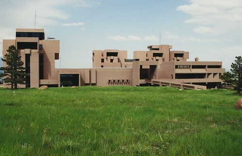NCAR Mesa Lab (looking East)