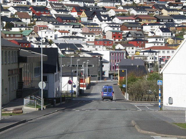 Klaksvík - The Largest Town of the Norther Islands of the Faroes