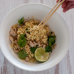 W3 2 minute noodles with chicken & lime