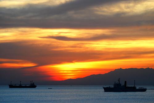 sunset nikon bravo ship searchthebest philippines manila manilabay naturesfinest magicdonkey d80 outstandingshots 70200vr doctony adoublefave