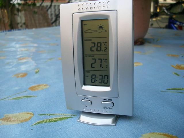 Photo - Termometro interior exterior ...