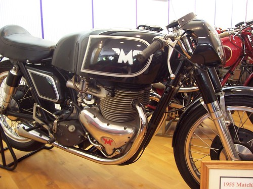 Solvang Motorcycle Museum - 1955 Matchless G45