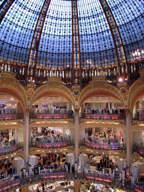 Galaries Lafayette, Paris (1906 onwards) by Georges Chedanne, ...