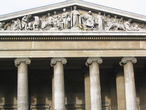 Facade of the British Museum