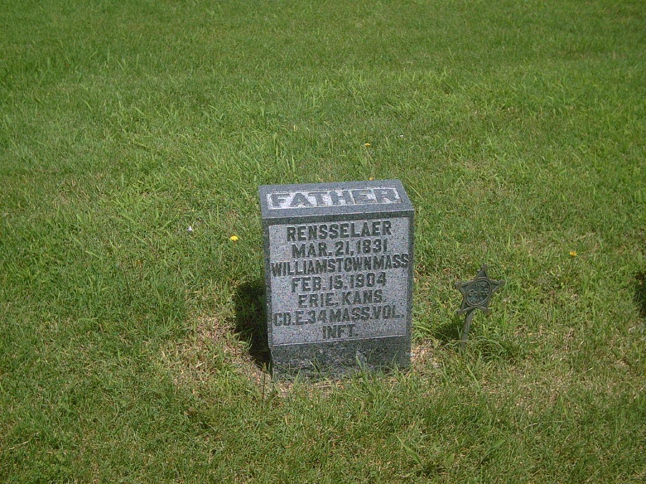 Kansas neosho county stark - Hobby Civilwarveteran Easthillcemetery Tombstonephoto Rensselaerbutler Coe34thmainfantry Bornatwilliamstownmaonmarch211831 Eriekansas