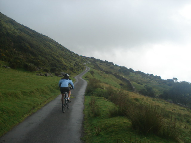 Cycling Cadair Idris