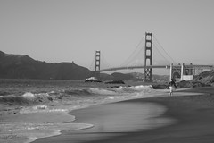 A Warm and Mellow September Day at Baker Beach