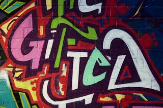 Graffiti-Schriftzug