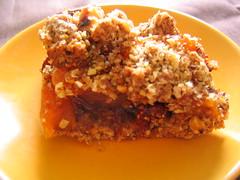 produce(0.0), pumpkin pie(0.0), meal(1.0), apple crisp(1.0), food(1.0), dish(1.0), dessert(1.0), crumble(1.0),