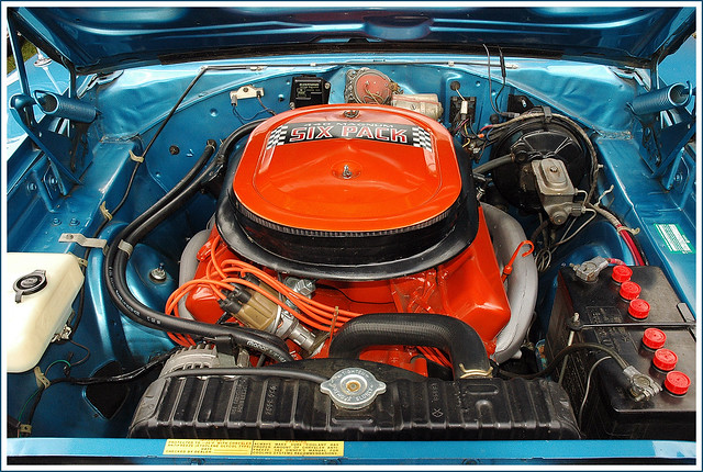 1970 Dodge Charger R T 440 Six Pack Engine Flickr