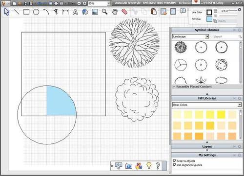 Descargar programa para dibujar planos for Programa para dibujar en 3d gratis