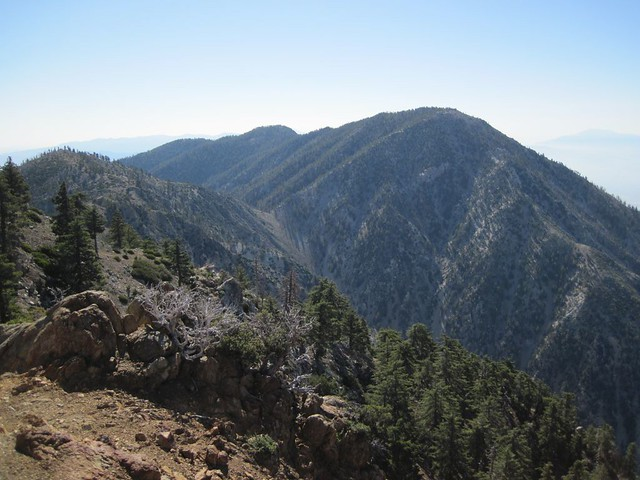 Cucamonga Peak from Ontario Peak