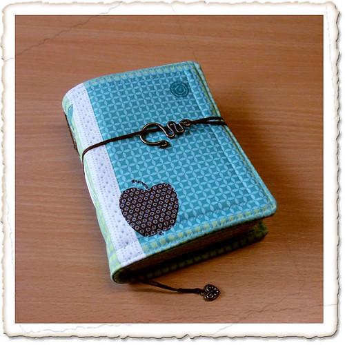 Notizbuch in eigenem Stoff
