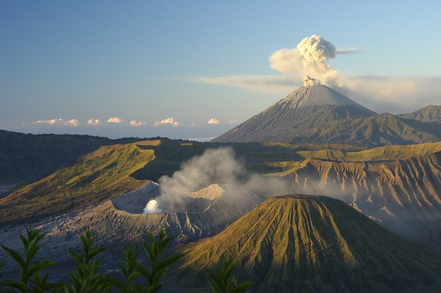 Mount Bromo, Java, Indonesia by CC user saramarlowe on Flickr