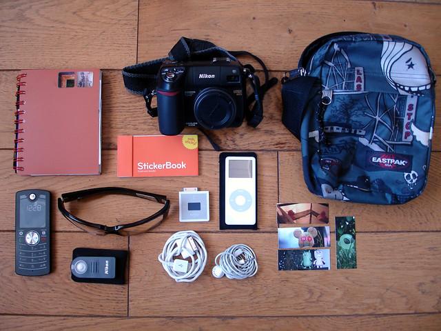 WHAT's iN My BAG !, Sony DSC-W17