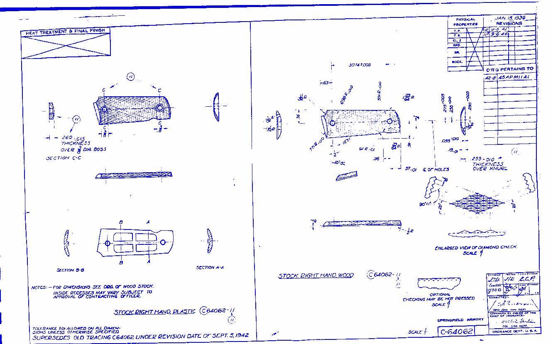Grips 1911 blueprint flickr photo sharing for Blueprint sizes