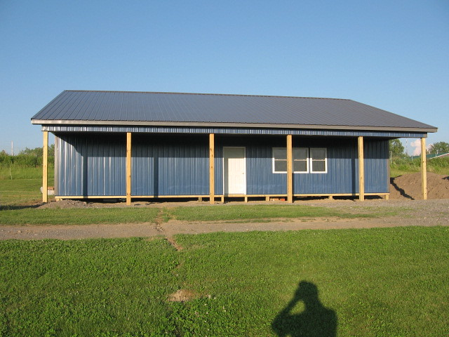 30 x 50 x 12 DIY Pole Barn | Flickr - Photo Sharing!