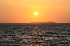 Saint-Malo, soleil couchant
