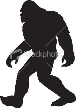 bigfoot outline - photo #14