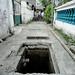 Drainase dibawah jalan : Under gang drainage. photo credit by Ardian