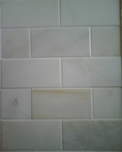 Tile  Kitchen on Marble Subway Tile Backsplash For Kitchen      Flickr   Photo Sharing