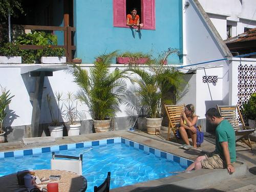 South America Brazil, Rio, Santa Teresa, Rio Hostel