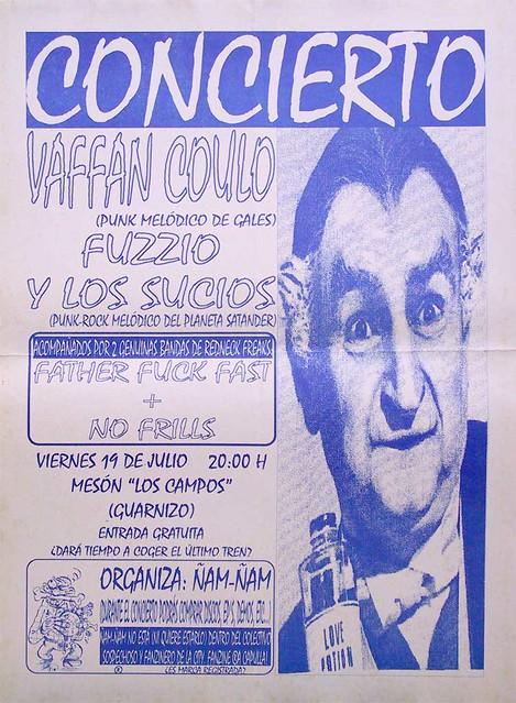 Vaffan Coulo+Fuzzio Y Los Sucios+Father Fuck Fast+No Frills