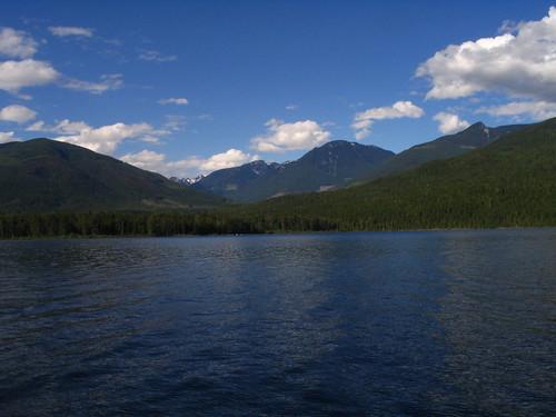 Shuswaps, BC - View