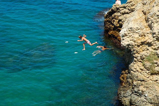 Belly Flop,Costa Brava,Spain