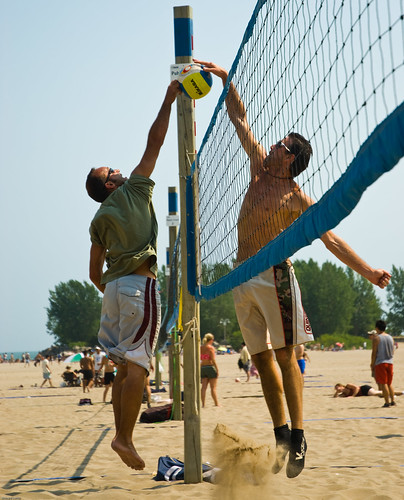 Beach Volleyball - Ashbridges Bay 08-06-07 - -2